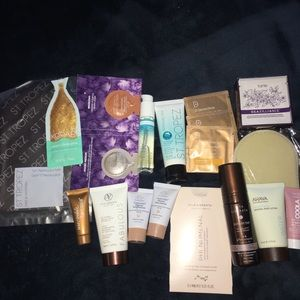 Over 20 Tanning samples